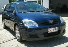 2005 Toyota Corolla ZZE122R 5Y Ascent Blue 5 Speed Manual Hatchback Bungalow Cairns City Preview