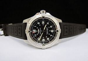 Authentic Breitling Aeromarine Colt II Men's (Rare Black Dial)