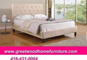 BRAND NEW QUEEN SIZE UPHOLSTERY BED...$299