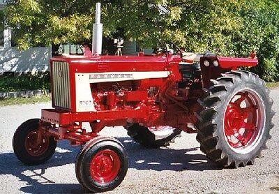 International Harvester Tractor 544 656 666 686 Gasolin Diesel Service Manual