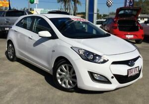 2013 Hyundai i30 GD Active White 6 Speed Sports Automatic Hatchback Currimundi Caloundra Area Preview