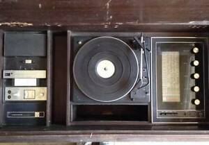 buffet/ Old school GE Hi-fi Turntable Record Stereo system Gosford Gosford Area Preview