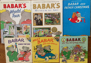 BABAR children's books $3 each or all 6 for $10 London Ontario image 1