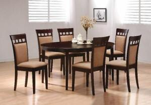 5 Or 7 Piece Dining Room Set With Cheap Delivery Available