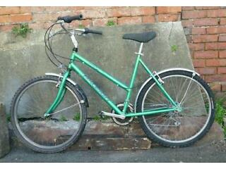 Ladies Raleigh aluminium frame bike