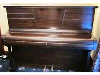 Pohlmann Vintage Upright Piano Model 3630 Mahagony