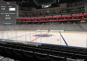 Edmonton Oilers Tickets - Section 119 Row 7