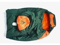 AS NEW Vaude Travel Light 3 Season Sleeping Bag