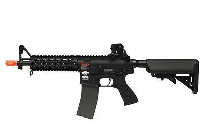 Used, G&G CM16 Combat Machine Raider Short M4 RIS AEG Airsoft Gun - Black / Combo for sale  Duarte