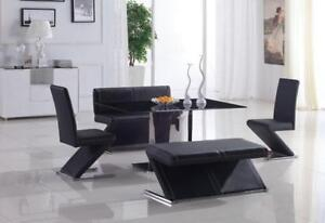 GLASS TOP DINING TABLE - VISIT WWW.KITCHENANDCOUCH.COM (BD-1219)