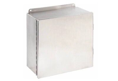 Hoffman A1212chnfss Stainless Steel Enclosure Nema Rated 12 X 12 X 6 New