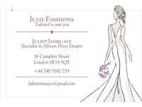 Julie Fashion Designer/Seamstress Expert!