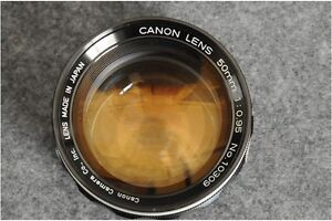 Want to Buy : Canon LTM 50mm f/.95