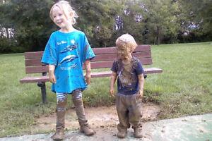 Kids clothes get sooooo dirty!