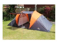 AVENTURA 4 PERSON TUNNEL TENT CAMPING LIKE NEW