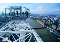 SAVE UP TO 32% @ THE LONDON EYE