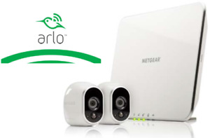 Netgear ARLO (2 Wireless Cameras with night vision) *NEW*