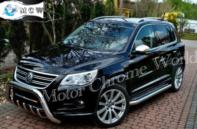 VOLKSWAGEN VW TOUAREG BULL BAR CHROME AXLE NUDGE A-BAR 60mm 2007-10 OUT OF STOCK