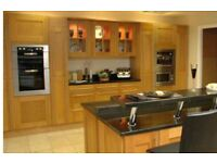 Cheap kitchens In real oak shaker wood Full units Plus more.