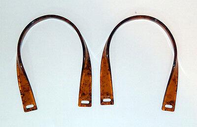 Amber Twist Purse Handles - set of 2 - new - Bag Boutique 9885