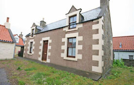 LARGE Spacious HOUSE with GREAT POTENTIAL in POPULAR SEASIDE LOCATION of Seatown of CULLEN, Scotland
