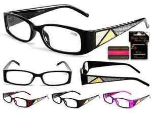 Plastic-Color-Reading-Glasses-with-Triangle-Rhinestone-Design