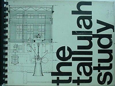 Tallulah Gorge Study  1971 Book  Georgia Power Co  N Georgia Mountains Authority