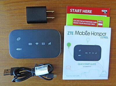 Straight Talk Prepaid Z291DL ZTE 4G LTE Mobile Hotspot