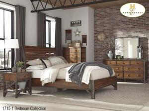 Industrial Bedroom Collection Sale - 8 PC Set (BD-2319)