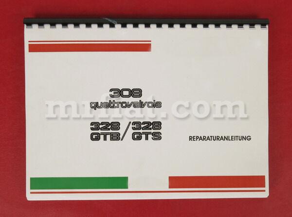 Ferrari 308 Qv 328 Workshop Manual New