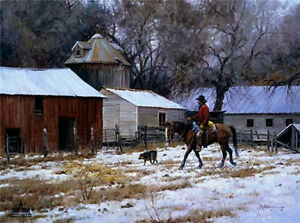 Martin Grelle - Day's End S/N   Reduced - Only $59.00!!