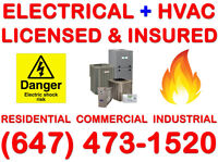 LICENSED ELECTRICAL & HVAC CONTRACTORS