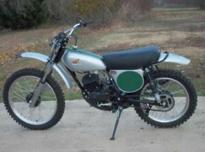 1974 Honda Elsinore CR 125m.