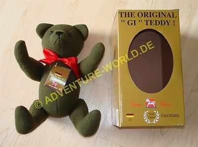 "The Original ""GI"" Teddy Bär aus US Army Decke - Hugo Koch 1946 Handmade Bear"