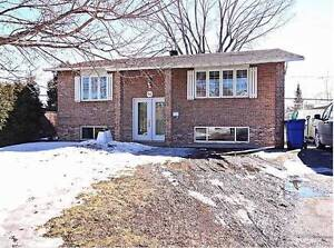 4-Br. Bungalow - with finished basement-  July 1st  - $1200