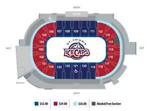 Great Gift Idea - Icecaps tickets and parking $65 St. John's Newfoundland image 1