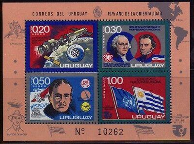 Uruguay Block 27 Unabhängigkeit USA postfrisch