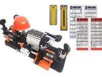 Dual Key Cutting Machine Starter Package. NEW with 1,430 keys on the boards. Free Delivery.