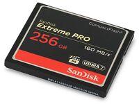 SanDisk Extreme Pro 256GB CompactFlash Card