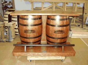 Original Jack Daniels branded oak whiskey barrels for sale! Peterborough Peterborough Area image 6