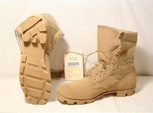 Brand New Genuine U.S. Military Issue Combat Desert Boots