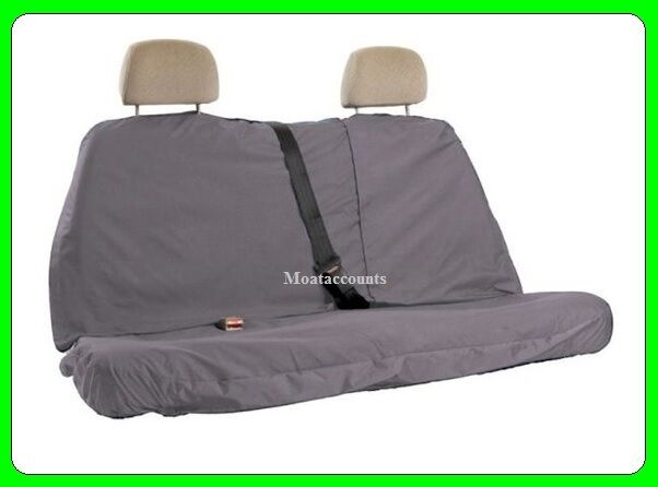 Town & Country Rear Seat Cover Grey [MFRGRY8] Resistant to Mud Oil Grease Water