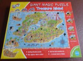 GALT Magic Puzzle Treasure Island