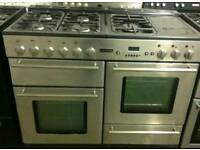 Rangemaster/Tecnik Dual fuel .....1 years warranty