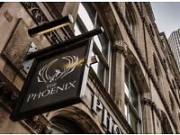 CDP wanted to join The Phoenix! Monday - Friday pub in the City of London.