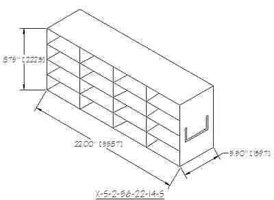 New Laboratory Upright Freezer Racks For 2 High Boxes 4 High X 4 Deep