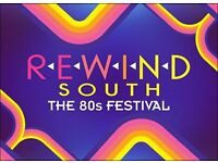 Volunteer at Rewind South Festival! Go for free without missing any of the festival!
