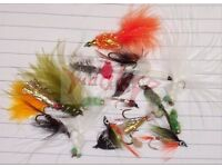 20 assorted fishing flies. NEW.