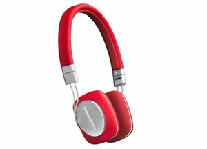 Brand New Bowers & Wilkins P3 Headphone color Rare Red
