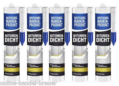 Bitumenkleber EUR 11,66/ltr  5 x  Dach-Bitumendichtmasse-Dachdicht-Dichtstoff